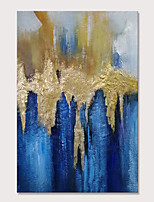 cheap -Mintura Hand Painted Abstract Golden Oil Paintings on Canvas Modern Wall Picture Pop Art Posters For Home Decoration Ready To Hang