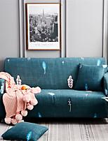 Недорогие -мультфильм зеленое растение печати пыленепроницаемый всесильный чехлы эластичный чехол для дивана супер мягкая ткань чехол для дивана с одной бесплатной наволочкой