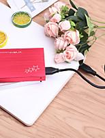 cheap -YD0010 USB 3.0 to SATA3.0 External Portable Hard Disk Box Silver/Red
