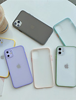 cheap -Case For Apple iPhone 11 /11 Pro /11 Pro Max /X/Xs/XR/XS Max Shockproof / Frosted Back Cover Transparent TPU / PC