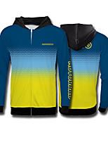 Недорогие -Tld градиент цвета внедорожный мотоцикл флисовый свитер мотоцикл джерси езда одежда скорость падение костюм спорт на открытом воздухе повседневная куртка motogp