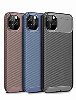 cheap -Case For Apple iPhone 11 / iPhone 11 Pro / iPhone 11 Pro Max Shockproof Back Cover Solid Colored TPU for iPhone 7 / 7 Plus / 8 / 8 Plus / X / XS / XR / Xs Max