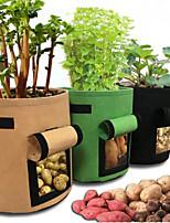 Недорогие -Оптовая продажа фабрики чувствовал посадки мешки картофеля посадки бочки садовые растения мешки выращивания горшки красивые посадки мешки могут быть настроены 35 л
