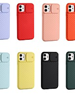 cheap -Case For Apple iPhone 11 / iPhone 11 Pro / iPhone 11 Pro Max Shockproof Back Cover Solid Colored TPU for iPhone 6 / 6s / 6 Plus / 6s Plus / 7 / 7 Plus / 8 / 8 Plus / X / XS / XR / Xs Max