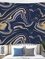 Недорогие -Саммор гобелен мрамор аннотация акрил синий мраморное произведение искусства уре золотой блеск гобелены гобелены декор стены для спальни гостиной общежитие