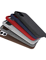 Недорогие -Кейс для Назначение Apple iPhone 11 / iPhone 11 Pro / iPhone 11 Pro Max Матовое Кейс на заднюю панель Плитка текстильный / ТПУ