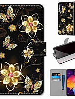 cheap -Case For Samsung Galaxy S20 / S20 Plus / S20 Ultra Wallet / Card Holder / with Stand Full Body Cases Butterfly PU Leather / TPU for A51 / A71 / A81 / A91 / A01 / A21 / A50(2019) / A30s(2019)