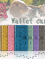 cheap -Case For Samsung Galaxy A91 / M80S / A81 / M60S Wallet / Card Holder / with Stand Full Body Cases Cat / Dog PU Leather for A01 / A11 / A21 / A41 / A51 / A71 / A81 / A91 /M31