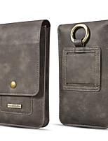 Недорогие -dg.ming все ниже 5.5 дюймов сумка для мобильного телефона универсальный портативный чехол для iphone для iphone samsung huawei xiaomi чехол мужская деловая сумка