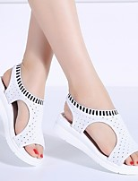 cheap -Women's Sandals Bunion Sandals Orthopedic Sandals Summer Creepers Open Toe Daily PU White / Black / Yellow