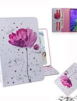 Недорогие -Кейс для Назначение Apple iPad Mini 3/2/1 / iPad Mini 4 / iPad Pro 11'' Кошелек / Бумажник для карт / Флип Чехол Цветы Кожа PU