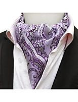 Недорогие -Муж. Для вечеринки / Для офиса / Классический Платок / аскотский галстук С принтом / Жаккард