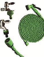 Недорогие -150 футов новый волшебный гибкий садовый шланг расширяемый поливочный шланг с пластиковыми шлангами телескопическая труба с распылителем для полива
