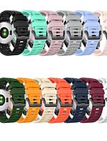 cheap -Watch Band for Approach S60 / Fenix 5 / Fenix 5 Plus Garmin Classic Buckle Silicone Wrist Strap