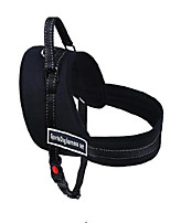 cheap -Rodents Dog Harness Breathable Adjustable Size Casual / Daily Safety Hiking Walking Terylene Nylon Blue Black