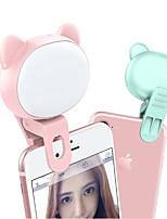 Недорогие -Мобильный телефон заполняющий свет tiktok YouTube видео с автоспуском кошка медведь в прямом эфире мини-свет светодиодный ночник 3 режима затемнения USB