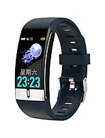Недорогие -E66 Универсальные Умные браслеты Android iOS Bluetooth Пульсомер Измерение кровяного давления Израсходовано калорий Длительное время ожидания Термометр ЭКГ + PPG