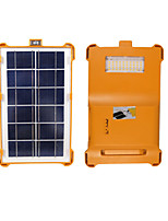 cheap -LYD15 USB LED Light Power Bank Solar Charger Waterproof LED 50 Emitters 4 Mode with Battery Waterproof LED Camping / Hiking / Caving Diving / Boating Cycling / Bike RGB+White Light Source Color Orange