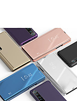 Недорогие -Кейс для Назначение Xiaomi Xiaomi Redmi Note 4X / Redmi 6A / Redmi Note 7 Защита от удара Чехол Однотонный пластик