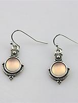 cheap -Women's Earrings Retro Totem Series Vintage Earrings Jewelry Silver For Daily Street Work 1 Pair
