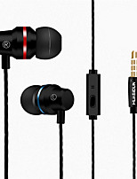 cheap -KUPENG G81 Wired In-ear Earphone Wired Stereo Dual Drivers with Microphone with Volume Control Sweatproof for Sport Fitness