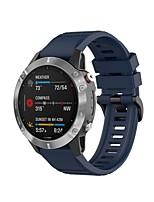 cheap -Watch Band for Fenix Garmin Classic Buckle Silicone Wrist Strap