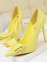 Недорогие -Жен. Обувь на каблуках На шпильке Заостренный носок Полиуретан Весна лето Желтый / Красный / Розовый