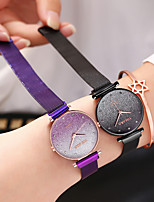 cheap -Ladies Quartz Watches Cubic Zirconia Elegant Fashion Blue Silver Red Alloy Chinese Quartz Rose Gold Purple Red Casual Watch Imitation Diamond 1 pc Analog One Year Battery Life