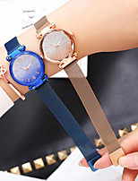 cheap -Women's Quartz Watches Sparkle Fashion Black Blue Silver Alloy Chinese Quartz Rose Gold Purple Red New Design Casual Watch 1 pc Analog One Year Battery Life
