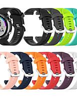 Недорогие -силиконовый браслет 20мм спортивные ремешки для часов браслеты для garmin forerunner 645 часы
