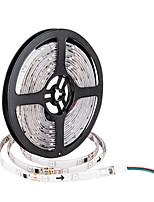 Недорогие -5м гибкие светодиодные полосы RGB TIKTOCK огни 150 светодиодов SMD5050 10мм 1шт многоцветный водонепроницаемый / вечеринка / самоклеящиеся 12 В