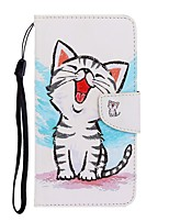 cheap -Case For Samsung Galaxy S10/S10E /S10 Plus Wallet / Card Holder / with Stand Full Body Cases Cat PU Leather For Galaxy Note 10 Plus/S20 Ultra/A01/A11/A21/A41/A51/A71