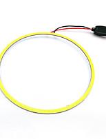 Недорогие -светодиодные удары ангельские глазки светодиодное кольцо ореола автомобиля дневного света лампы 110 мм белый синий 12 В 24 В постоянного тока 2 шт.