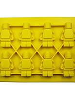 Недорогие -8 шт. 8-ой Звездные войны силиконовый шоколад робот силиконовые формы льда поделки