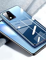 Недорогие -Кейс для Назначение SSamsung Galaxy S20 Plus / S20 Ultra / S20 Покрытие Кейс на заднюю панель Однотонный ТПУ