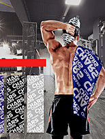Недорогие -Спортивное полотенце Полотенце для туризма Тренажерный зал Полотенце Муж. Жен. Полотенце для рук Пот полотенце Однотонный Легкость Быстровысыхающий Супер Абсорбент для Главная тренировка Бег Фитнес
