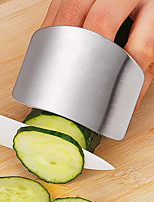 Недорогие -1шт из нержавеющей стали овощная защита рук защитник пальцев