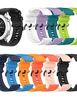 Недорогие -Ремешок для часов для Хуами Амазфит Стратос 2 / Амазфит ГТР 47мм / Амазфит Пейс Amazfit Классическая застежка силиконовый Повязка на запястье