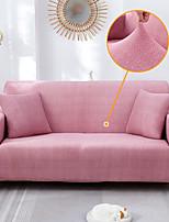cheap -Nordic Simple Plain Color Elastic Sofa Cover Single Double Three Person Sofa Cover