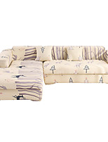 cheap -Milu Deer Print Dustproof All-powerful Slipcovers Stretch Sofa Cover Super Soft Fabric Couch Cover with One Free Pillow Case