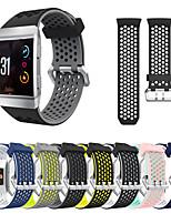 Недорогие -Ремешок для часов для Fitbit ionic Fitbit Спортивный ремешок / Классическая застежка / Современная застежка силиконовый Повязка на запястье