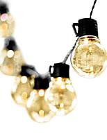 Недорогие -3 м 10 светодиодов гирлянда из светодиодов глобус светодиодный свадебный шнур свет фея лампы рождественская фея гибкий свет гирлянда сад патио украшения освещения ес вилка ac220v 230 В 240 В