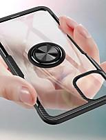Недорогие -Кейс для Назначение Apple iPhone 11 / iPhone 11 Pro / iPhone 11 Pro Max со стендом / Ультратонкий Кейс на заднюю панель Плитка ТПУ