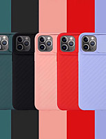 cheap -Case For Apple iPhone 11 / iPhone 11 Pro / iPhone 11 Pro Max /6/6p/7/8/7p/8p/x/xr/xsmax Dustproof / Ultra-thin Back Cover Solid Colored Silicone