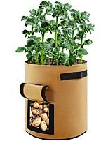 Недорогие -нетканые посадки мешок дома садоводство красоты посадки мешок защиты окружающей среды рассада утолщение балкон посадки овощной мешок сад цветочный горшок
