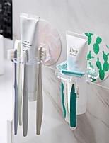 Недорогие -забавный держатель для зубных щеток с четырьмя отверстиями многофункциональный настенный стеллаж для хранения мытья зубная паста для чистки молока