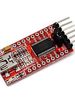 Недорогие -Ft232rl ftdi usb to ttl модуль последовательного преобразователя адаптер для Arduino