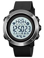 Недорогие -1511 Универсальные Смарт Часы Android iOS Bluetooth Водонепроницаемый Пульсомер Спорт Израсходовано калорий Компас Секундомер Педометр Напоминание о звонке Датчик для отслеживания активности будильник
