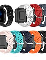 Недорогие -дышащий силиконовый спортивный ремешок для Xiaomi Smart Watch 18 мм