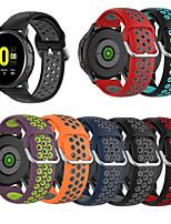 Недорогие -Ремешок для часов для Huawei Watch GT2 46mm / Huawei Watch GT2 42mm Huawei Спортивный ремешок / Современная застежка силиконовый Повязка на запястье